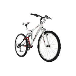 Mountainbike Fully 26 Zoll Zodiac 21 Gänge Mountainbikes weiß