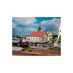 PIKO Modelleisenbahn-Set PIKO Spur H0 Bausatz Bahnhof Burgstein