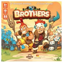 Board Game Box Spiel, Brettspiel Brothers