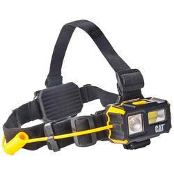 CAT CT4120 LED Stirnleuchte mit Flut- und Spot Licht, mit Rot Licht, inklusive Batterien