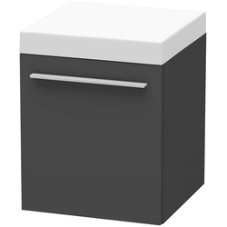 Duravit Rollcontainer X-LARGE 400 x 400 x 510 mm graphit matt