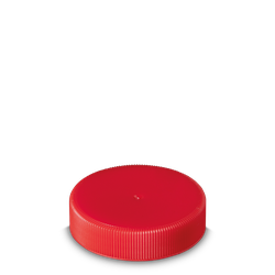 Schraubverschluss - rot - DIN 60 Gewinde