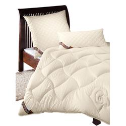 Sannwell Bettenprogramm beige Allergiker Kopfkissen Bettdecken, Unterbetten Decken