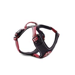 Wolters Hunde-Geschirr Active Pro, Nylon rot 80 cm - 95 cm