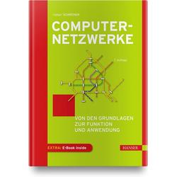 Computernetzwerke als Buch von Rüdiger Schreiner