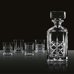 NACHTMANN Serie Highland Whisky Set 5 teilig Karaffe und 4 Gläser