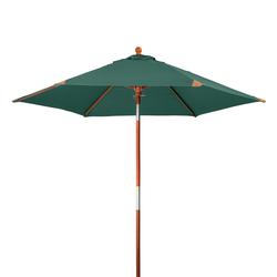 "Doppler Sonnenschirm / Holz-Marktschirm ""Havanna Junior 240"",dunkelgrün,240 cm"