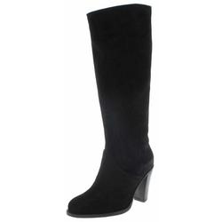FB Fashion Boots SOFIA HIGH Damen Lederstiefel Schwarz Stiefel Rahmengenäht 38 EU