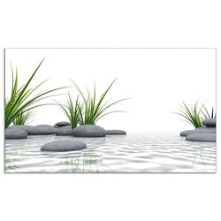 Artland Küchenrückwand 3 D Steine, (1-tlg) 110 cm x 65 cm x 0,3 cm