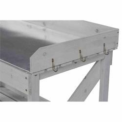 SIENA GARDEN Pflanztisch 100x50x95 cm grau, Fichte FSC 100%
