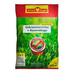 Unkrautvernichter + Rasendünger 2in1 SQ 450 | 9 kg| für 450 m²
