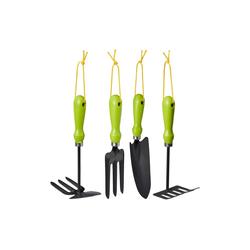 relaxdays Werkzeugset Gartenwerkzeug Set 4-teilig