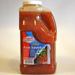 Salomon - Asia-Sauce, süss-scharfe Chili Sauce mit Knoblauch 2Liter