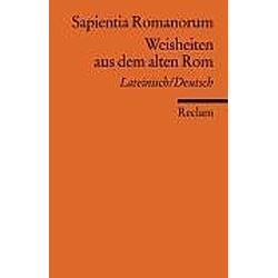 Weisheiten aus dem alten Rom - Buch