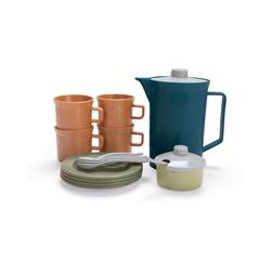 dantoy Spielgeschirr BIOplastic Kaffee-Service für 4 in Geschenkbox, blau