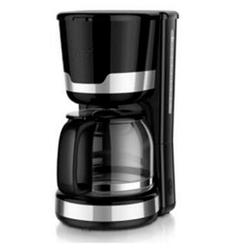 dynamic24 Filterkaffeemaschine, 1.5l Kaffeekanne, Dauerfiter 2, Kaffeemaschine 12 Tassen Filterkaffeemaschine Glas Kanne Kaffee Maschine 1000W