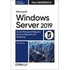 Microsoft Windows Server 2019 - Das Handbuch als Buch von Thomas Joos