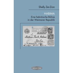Habima als Buch von Shelly Zer-Zion