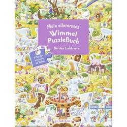 Mein Wimmel-Puzzle-Buch Einhörner Seitenanzahl: 14 Seiten