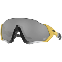 Oakley Flight Jacket Tour De France Collection - Fahrradbrillen Gold/Silver/Black