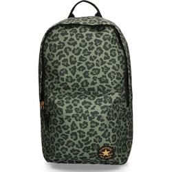 Converse Laptoprucksack EDC Poly, leopard medium olive
