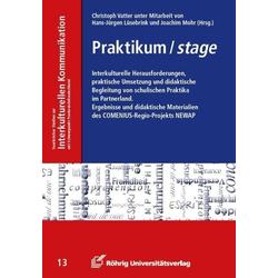 Praktikum / stage als Buch von