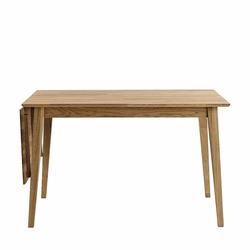 Holztisch aus Eiche massiv verlängerbar