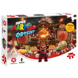 Winning Moves Steckpuzzle Puzzle Super Mario Odyssey Bowser's Castle, 500 Puzzleteile