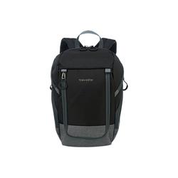 travelite Reiserucksack Basics Rucksack (Ryanair Maße) 35 cm schwarz