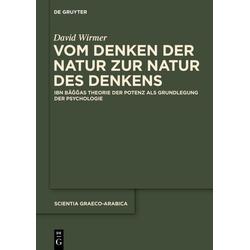 Vom Denken der Natur zur Natur des Denkens als Buch von David Wirmer