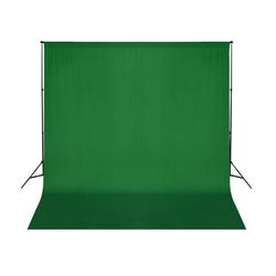 vidaXL Fotohintergrund vidaXL Fotohintergrund-System grün 300 cm