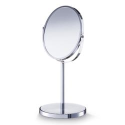 Zeller Kosmetikspiegel, Schwenkbarer Spiegel für Schmink- und Kosmetikarbeiten, Maße: Ø17; Ø15 x 35