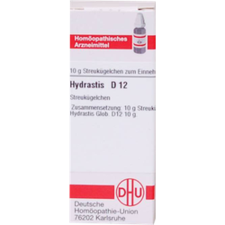 HYDRASTIS D 12 Globuli 10 g