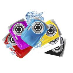 Unterwasser Kamera W1024-I Splash Iceblue