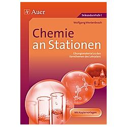 Chemie an Stationen. Wolfgang Wertenbroch  - Buch