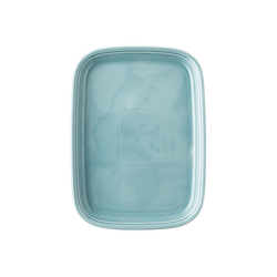 Thomas Porzellan Servierplatte Trend Colour Ice Blue Platte 33 cm, Porzellan, spülmaschinengeeignet