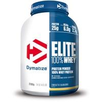 Dymatize Elite 100% Whey Protein Smooth Banana Pulver 2100 g