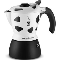 BIALETTI Espressokocher Mukka Express, 0,22l Kaffeekanne, 2 Tassen