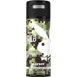 Playboy Play It Wild Men Deo Body Spray 150 ml Deodorant Spray