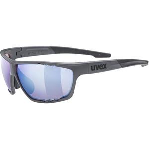 Uvex Unisex – Erwachsene, sportstyle 706 CV Sportbrille, kontrastverstärkend