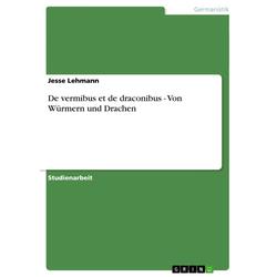 De vermibus et de draconibus - Von Würmern und Drachen als Buch von Jesse Lehmann