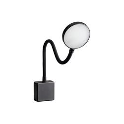 SEBSON LED Steckdosenleuchte LED Steckdosenlampe dimmbar schwarz, Leuchte für die Steckdose 4W, Steckerleuchte mit Schwanenhals flexibel neutralweiß 4000K - Leselampe, Nachtlicht