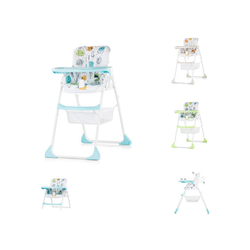 Chipolino Hochstuhl Hochstuhl 2 in 1 Regalo Hochstuhl und Kinderstuhl, Höhe verstellbar blau