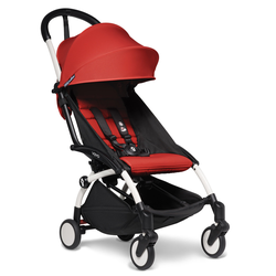 BABYZEN Kinderwagen YOYO2 6+ weiß rot