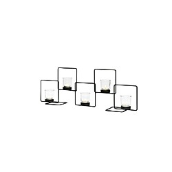 Metall-Kerzenhalter Quadra