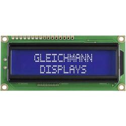 Gleichmann LED-Baustein Weiß Blau (B x H x T) 80 x 36 x 13.2mm GE-C1602B-TMI-JT/R