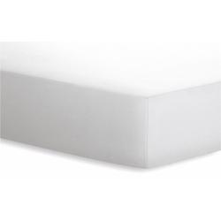 Schlafgut Spannbetttuch Jersey in weiß, 120 x 200 cm