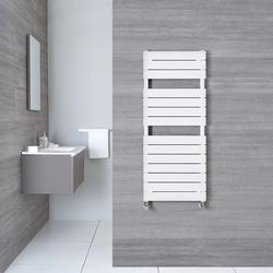 Design Handtuchheizkörper 1213x500mm Weiß 489W - Elgin, von Hudson Reed