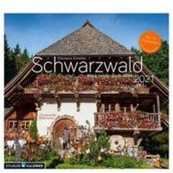 Schwarzwald 2021 Postkarten-Tischkalender