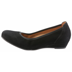 Gabor Pumps in runder Form schwarz 38